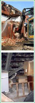Abriss- und Entrümpelungsarbeiten